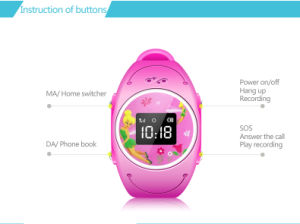 IP68 Waterproof Sos Kids GPS Smart Watch pictures & photos