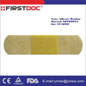 Medical Product Band Aid 70X18mm Nonwoven Adhesive Bandages pictures & photos