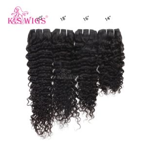 Premium Grade Indian Raw Remy Human Hair Weft pictures & photos