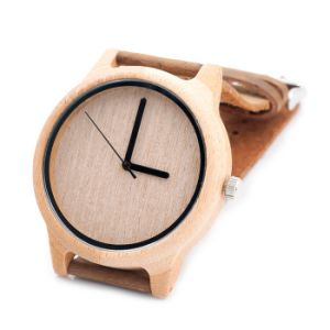 New Environmental Protection Japan Movement Wooden Fashion Watch Bg453 pictures & photos