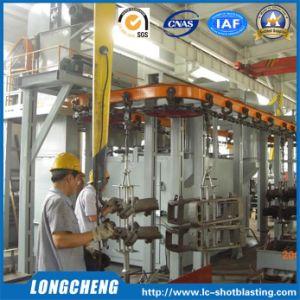 Professional Overhead Rail Grit Blasting Machine
