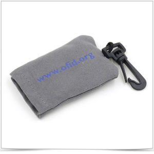 Microfiber Eyeglasses Keychain Cleaning Cloth pictures & photos