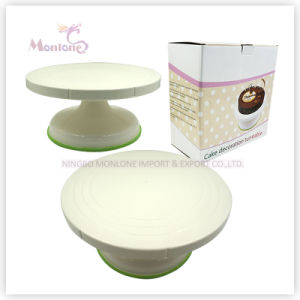 27*13 Cake Decorating Turntable Stand, Revolving Cake Stand pictures & photos