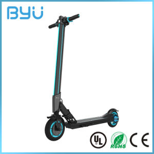 Quality Smart Control LCD Backlit Throttle Electric Scooter for Adults pictures & photos