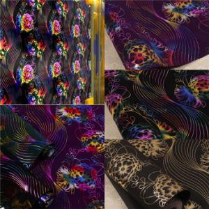 Small MOQ 3D Flocking Fabric Wallpaper (JSL163-018)