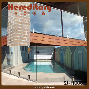 Core Drilled Stainless Steel Balcony Railing Glass Spigot (SJ-H006) pictures & photos