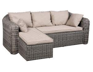 Hotsale Outdoor Patio Wicker Rattan Garden Sofa pictures & photos
