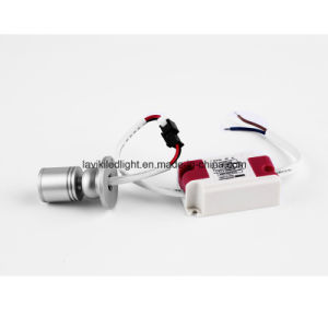 Surface Mounted COB Mini Spot LED Spotlight with 1W 3W for Cabinet, Showcase, Jewelry Shops pictures & photos