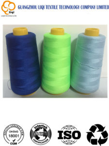 100% Spun Polyester Sewing Thread for Girls Party Dresses pictures & photos