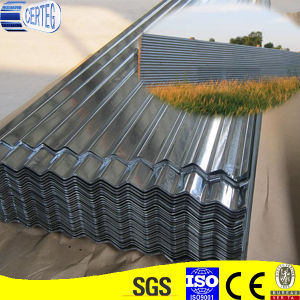 Zinc Coated Cold Rolled Corrugated Steel Plate pictures & photos