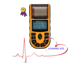 Ce Approved 1-Channel Handheld ECG EKG (EKG-80A) -Fanny pictures & photos