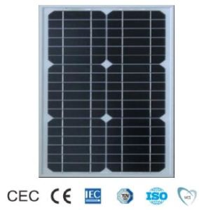 15W TUV/CE/IEC/Mcs Approved Mono-Crystalline Solar Panel (ODA15-18-M) pictures & photos