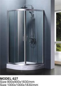 Chromed Stainless Steel Hardware Shower Room