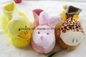Baby Warm Plush Slippers Shoes