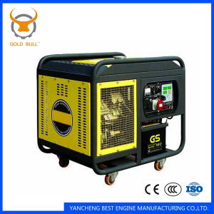 GB7500dgs Air-Cooled Power silent Diesel Generator for Industrial Use