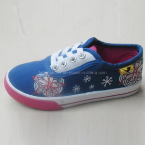 2016 New Style Fashion Kids Shoes Printing Canvas Shoes (HH1613-3) pictures & photos