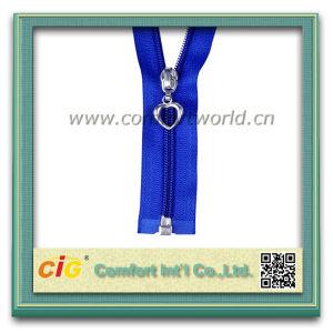 Metal Brass Nylon Zipper pictures & photos
