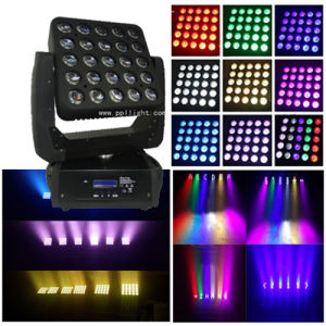 25PCS 12W RGBW LED Moving Head Beam Light pictures & photos