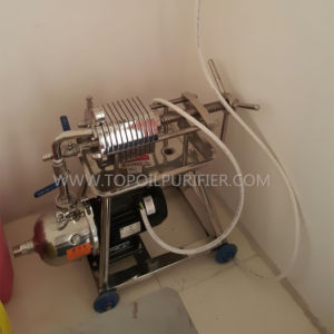 Stainless Steel Soybean Oil Sunflower Oil Coconut Oil Filter Machine pictures & photos