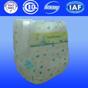 Disposable Cloth Diapers for Wholesales Baby Diapers in Bulk with PP Tapes pictures & photos