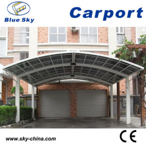 Polycarbomate Roof Car Parking Steel Carport pictures & photos