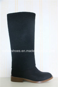 New Fashion Design Flat Heel Women Winter Boot pictures & photos