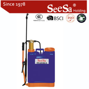 16L Agricultural Backpack Manual Hand Pressure Backpack Sprayer (SX-LK16U-A) pictures & photos