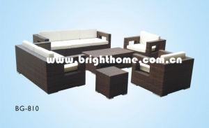 Outdoor Sofa Set PE Rattan Wicker Bg-810 pictures & photos