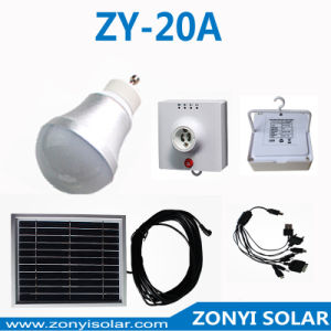 3W Potable Solar Light System Home Use pictures & photos