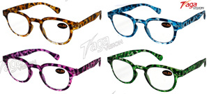 Extreme Light Colourful Plastic Reading Glasses