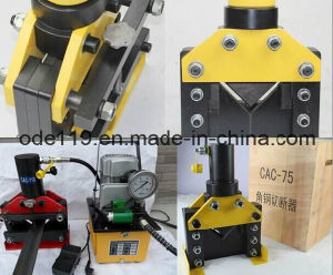 Cac-75 Hydraulic Angle Steel Cutter pictures & photos
