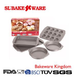 5PCS Bake Set Carbon Steel Nonstick Bakeware (SL-Bakeware) pictures & photos