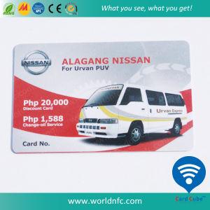 Cr80 Plastic 13.56MHz I Code Sli PVC RFID Smart Cards pictures & photos