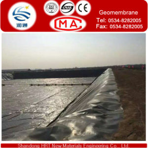 Lowest Price HDPE Geomembrane with GB-1 Standard by Recycle Material pictures & photos