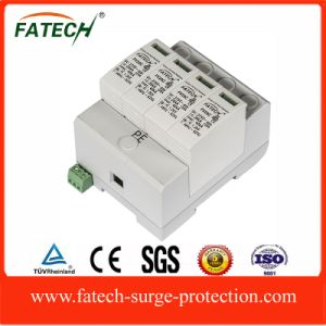 google 4P rail type ac voltage power surge protector spd 385v 40amp pictures & photos