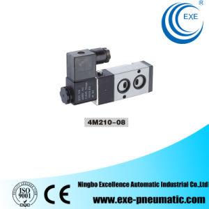 Exe Pneumatic Solenoid Valve 2 Position 5 Port, 4m210-08 pictures & photos