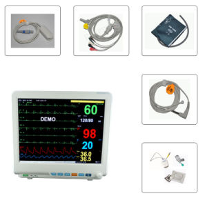 15-Inch 6-Parameter Patient Monitor/ECG Monitor (RPM-9000E) -Fanny pictures & photos