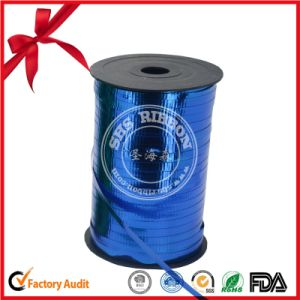 Wedding Decorative blue Polyester Satin Ribbon pictures & photos