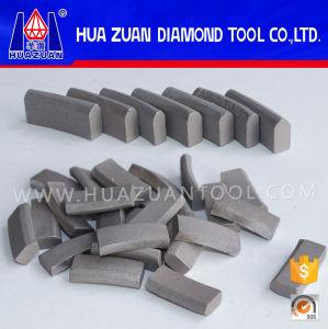 Huazuan Diamond Core Bit Segment for Reinforced Concrete pictures & photos