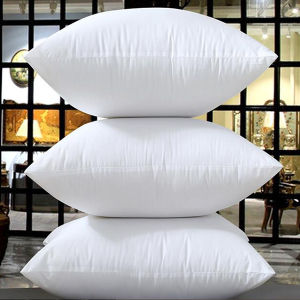 Gold Piping 100% Egyptian Cotton Cover White Goose Down Pillow (DPF10307) pictures & photos