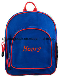 Royal Blue Children′s Personalized Backpack Bags for School pictures & photos