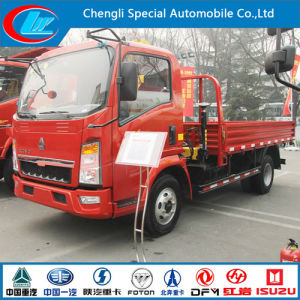 Sinotruk HOWO Mounted Truck with Cargo Box pictures & photos