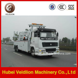 HOWO 6X4 Rotator Wrecker Wheel Lift Towing Wrecker Truck pictures & photos