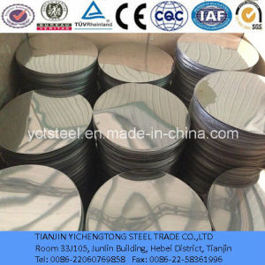 304/Ba Stainless Steel Circles with Good Corrosion Resistance pictures & photos