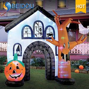 Factory Inflatable Halloween Decorations Halloween Inflatable Haunted House For Sale