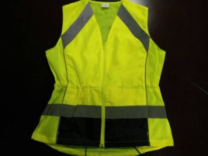 Fashion Safety Vest with Details 100%Polyester pictures & photos