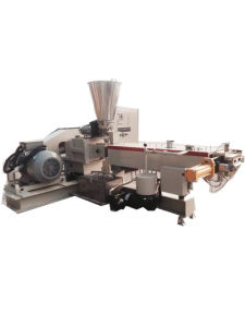 Parellel Co-Rotating Twin Screw Plastic Extruder for Plastic Compounding pictures & photos
