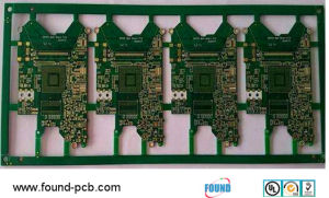 Tg180 HDI Blind Buried BGA Control Impedance PCB pictures & photos