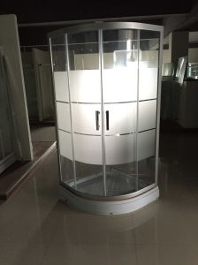 Frosted Glass Shower Cabins (ADL-8B01) pictures & photos