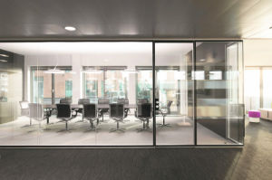 Tempered Glass Office Partition Doors with En12150 and AS/NZS 2208. pictures & photos